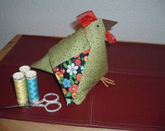 Hen-rietta hand made pin cushion