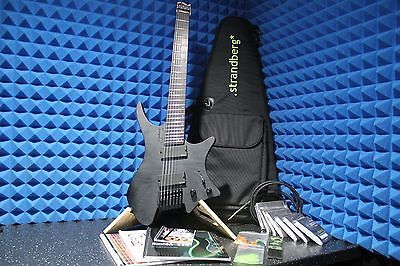 Strandberg Boden Os 7 Headless 7 String Guitar With Stand And Lots Of Extras - http://www.7stringguitar.org/for-sale/strandberg-boden-os-7-headless-7-string-guitar-with-stand-and-lots-of-extras/35678/