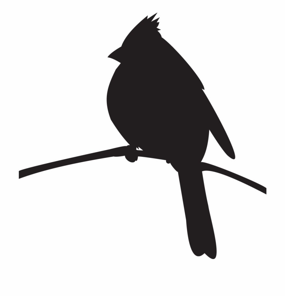 Cardinal Silhouette i like this because you know its a ...  |Cardinal Silhouette Tattoo