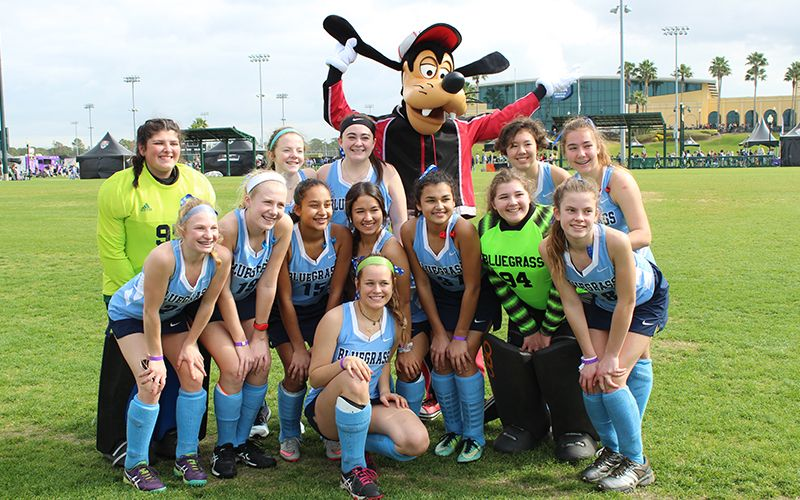 Field hockey in the most magical place on earth got