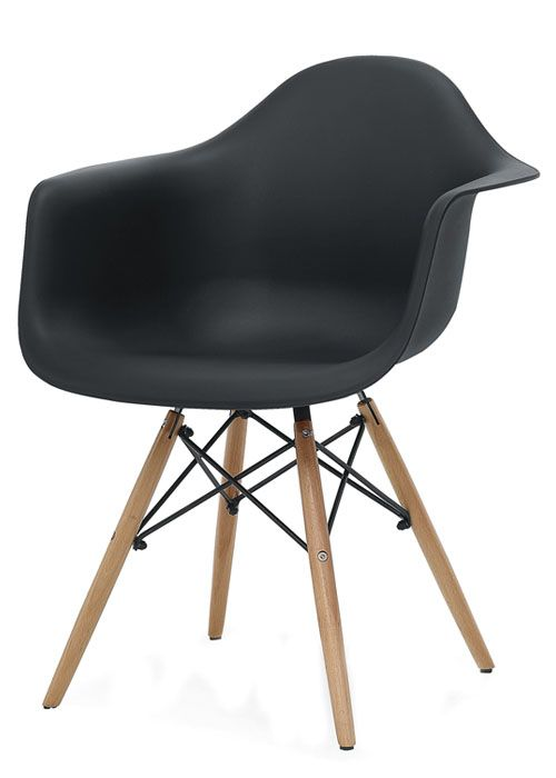 sillon eames el sillon eames es un clasico del mobiliario del siglo xx construida con patas de madera lustrada e hilos de acero que forman una autentica - Sillon Eames