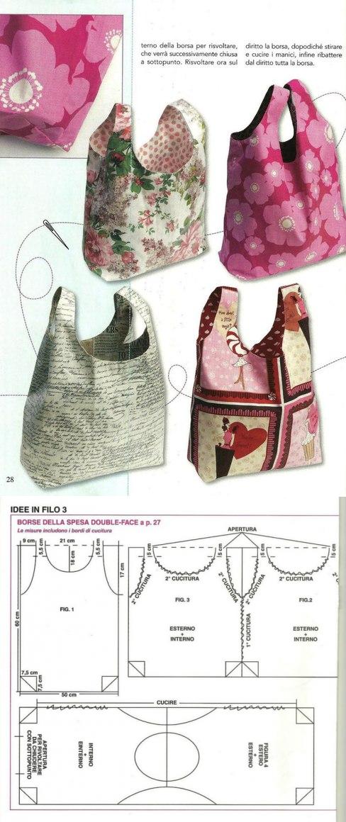 La bolsa - el paquete de la piel \\/ los patrones Simples \\/ la ...