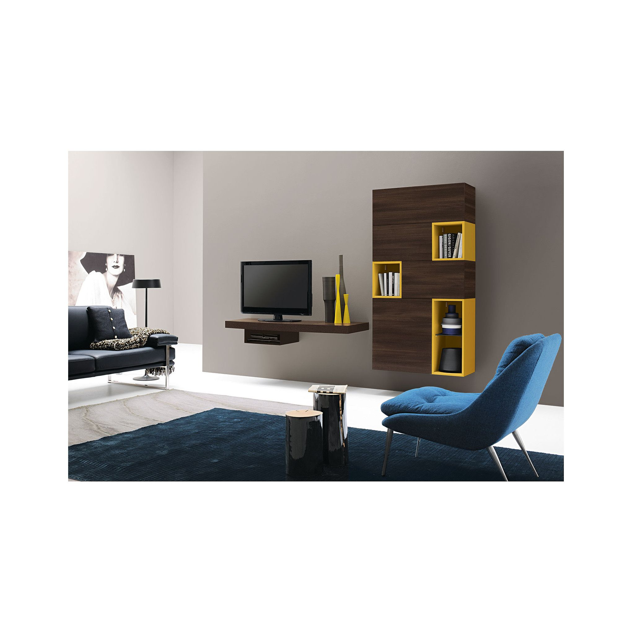 Collections Tv UnitsShelving UnitsModern WallModern Modloft