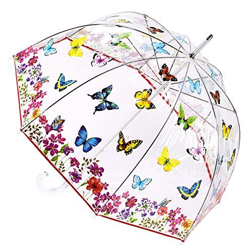 Butterfly Garden Bubble Umbrella * Want to know more, click on the image. (This is an affiliate link and I receive a commission for the sales)