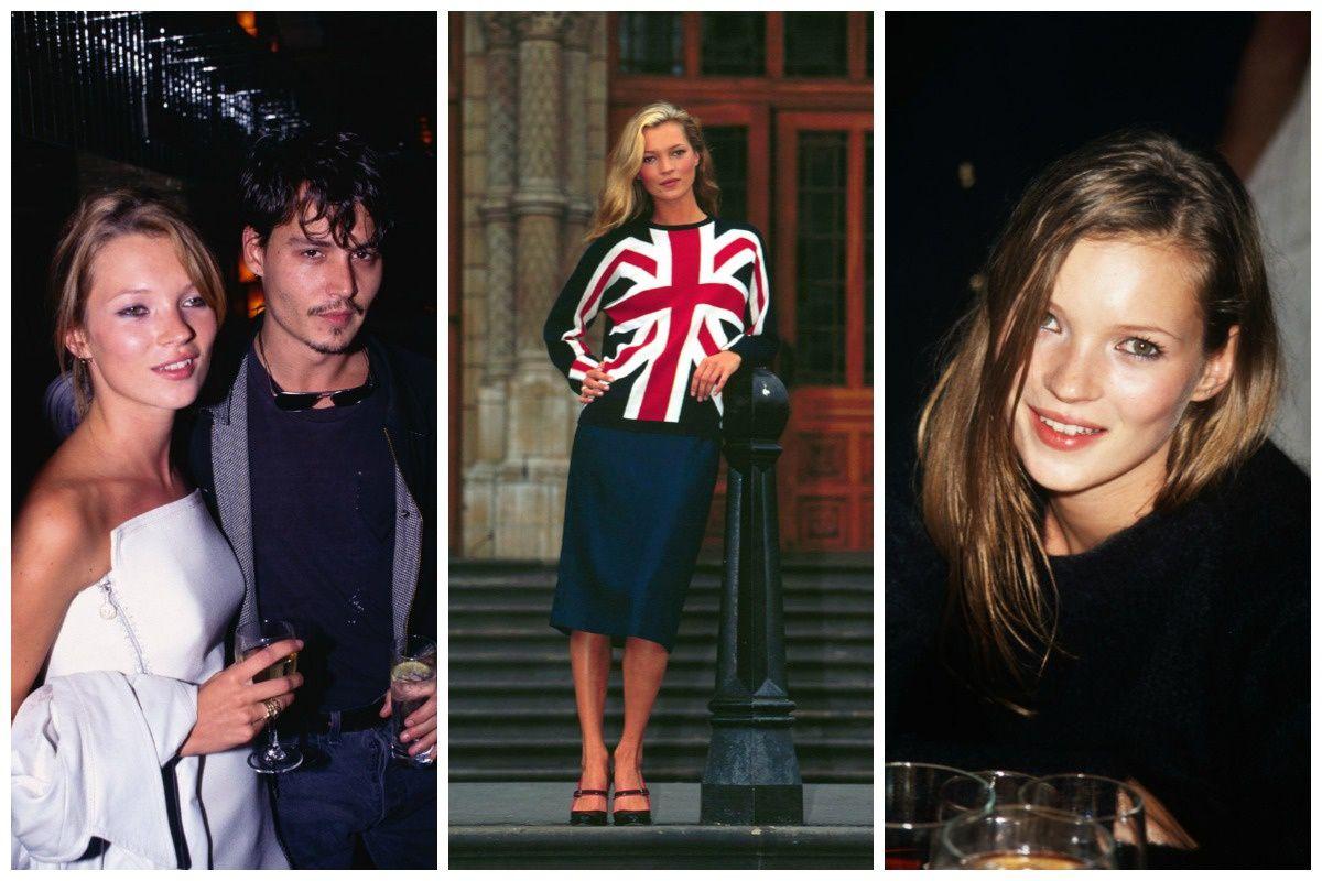 Repasamos las mejores tops de la decada de los 90: Kate Moss