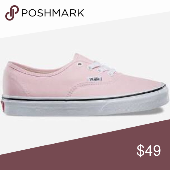 d63e569a60 VANS Authentic Chalk Pink   True White Womens Shoe MWT WOMENS VANS SIZE 5  also fit children s size Vans Shoes Sneakers