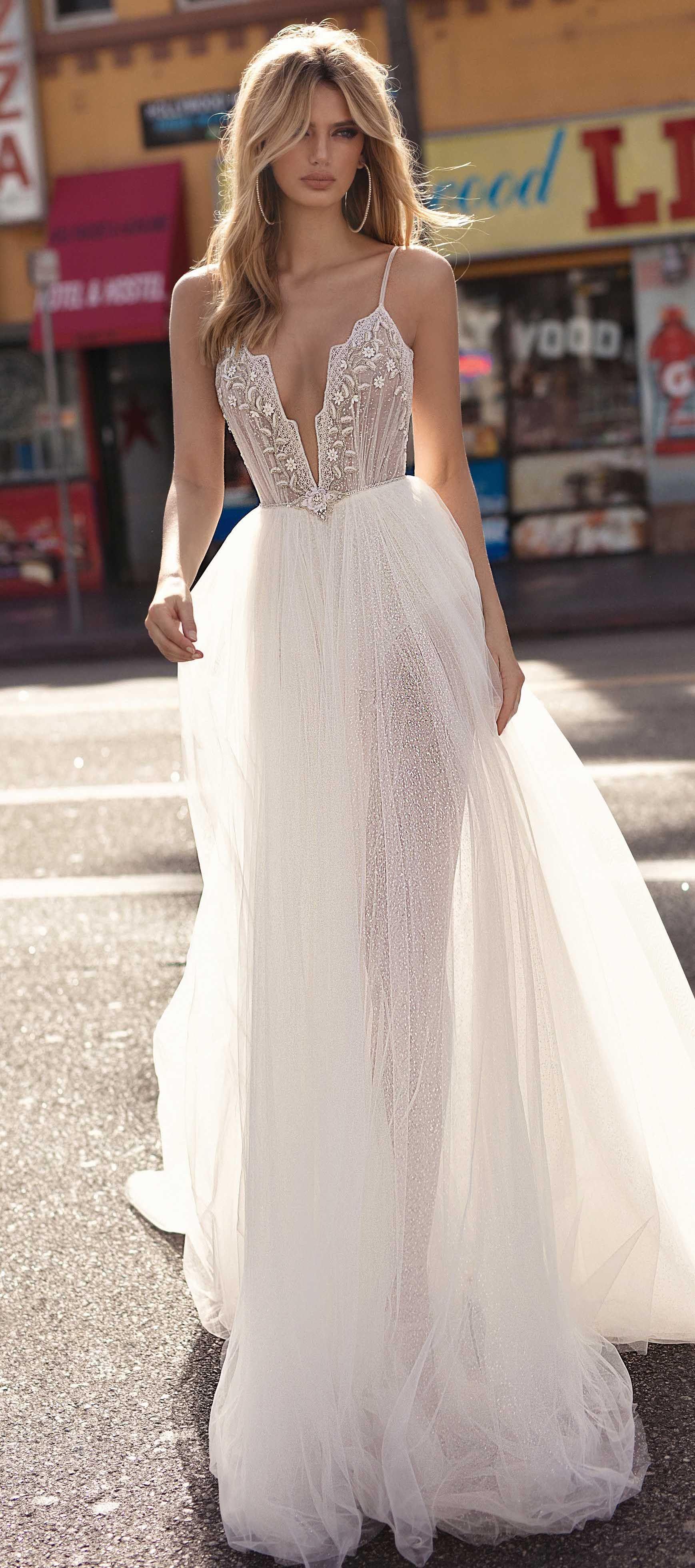 Muse by berta wedding dress ball gown wedding dress with deep v
