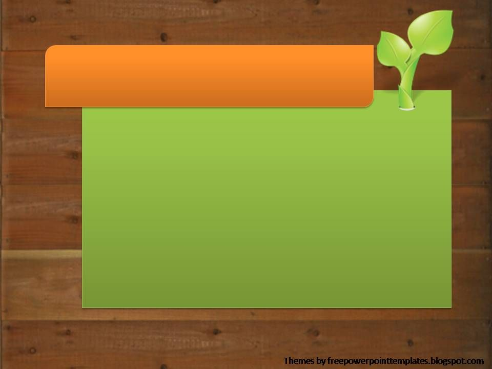Free Powerpoint Templates Plant Background PowerPoint background