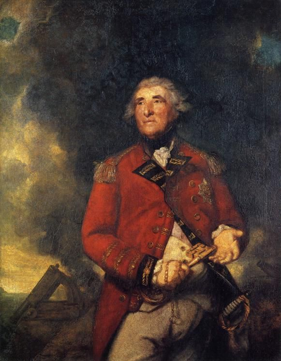 Reynolds. Lord Heathfield - 1787