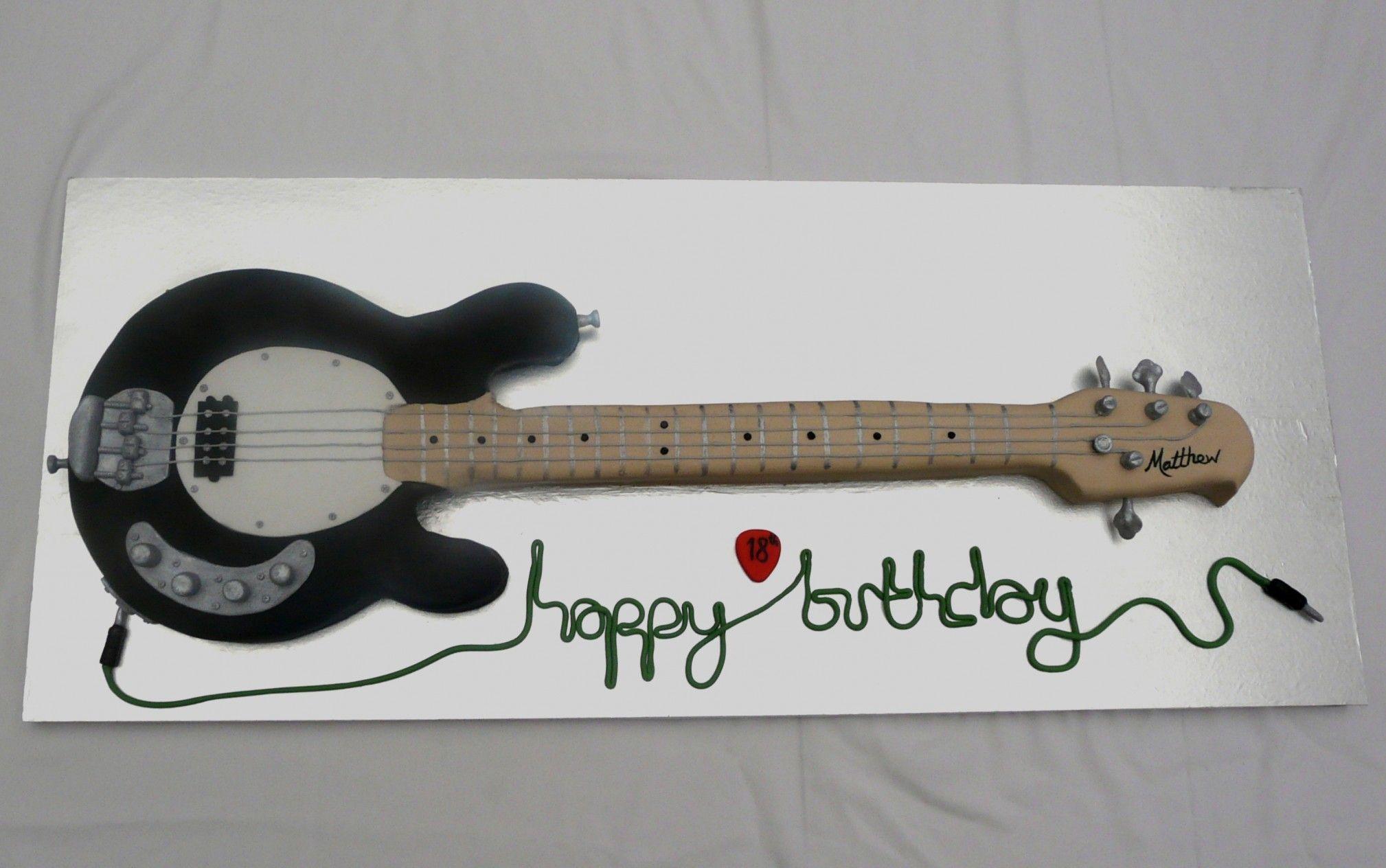 Сердца, день рождения открытка гитара