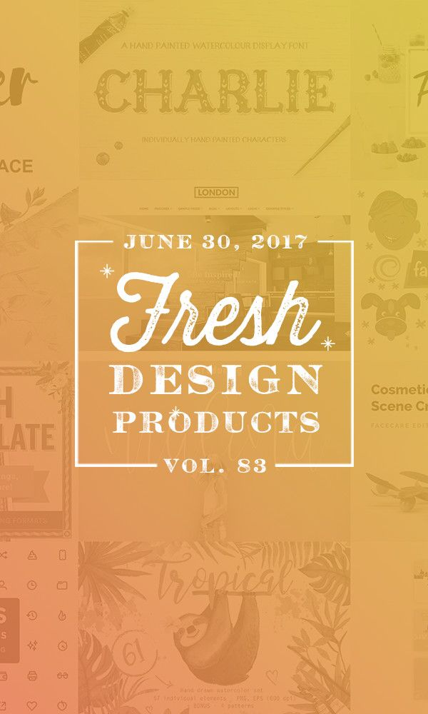This Weeku0027s Fresh Design Products Vol 83