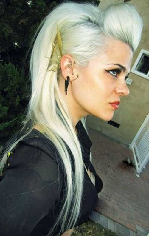20 Punk Long Hairstyles Punk Rock Hair Rocker Hair Rock