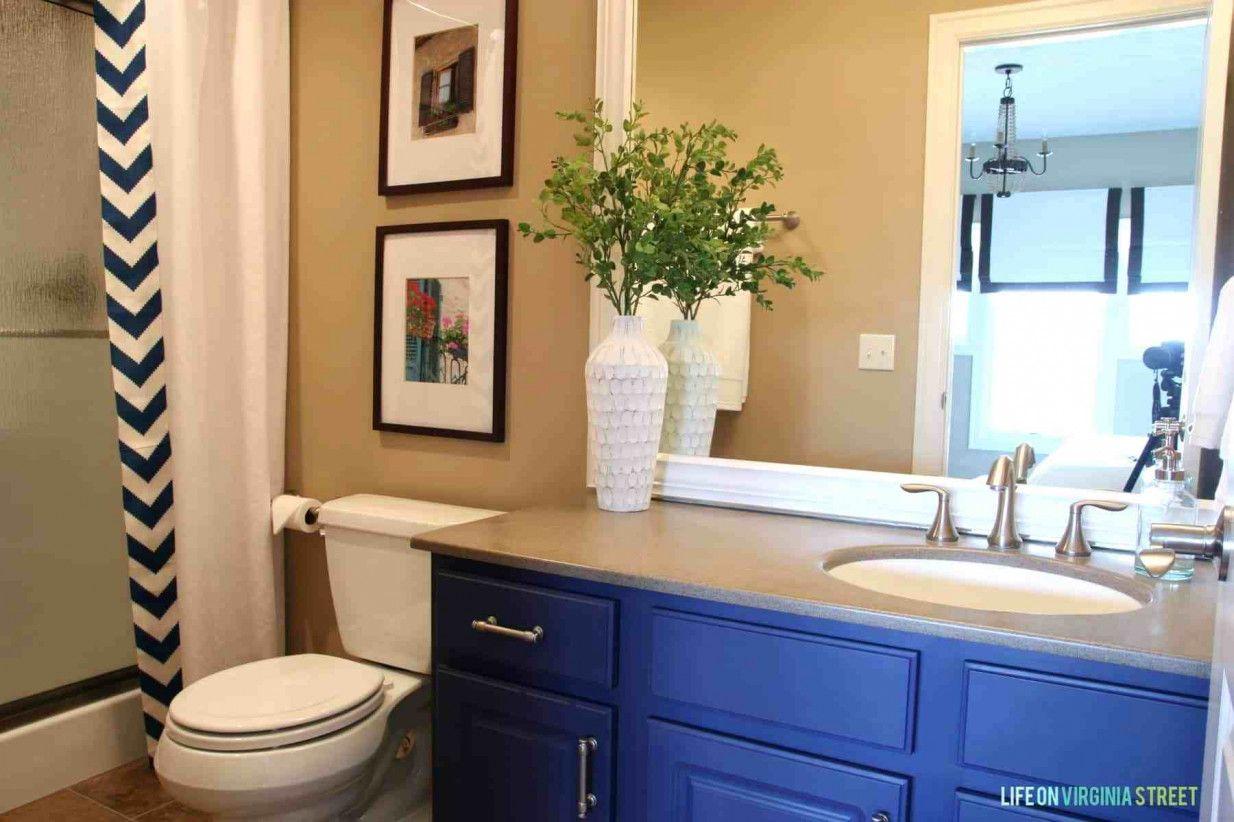 50 Blue Bathroom Cabinet Popular Interior