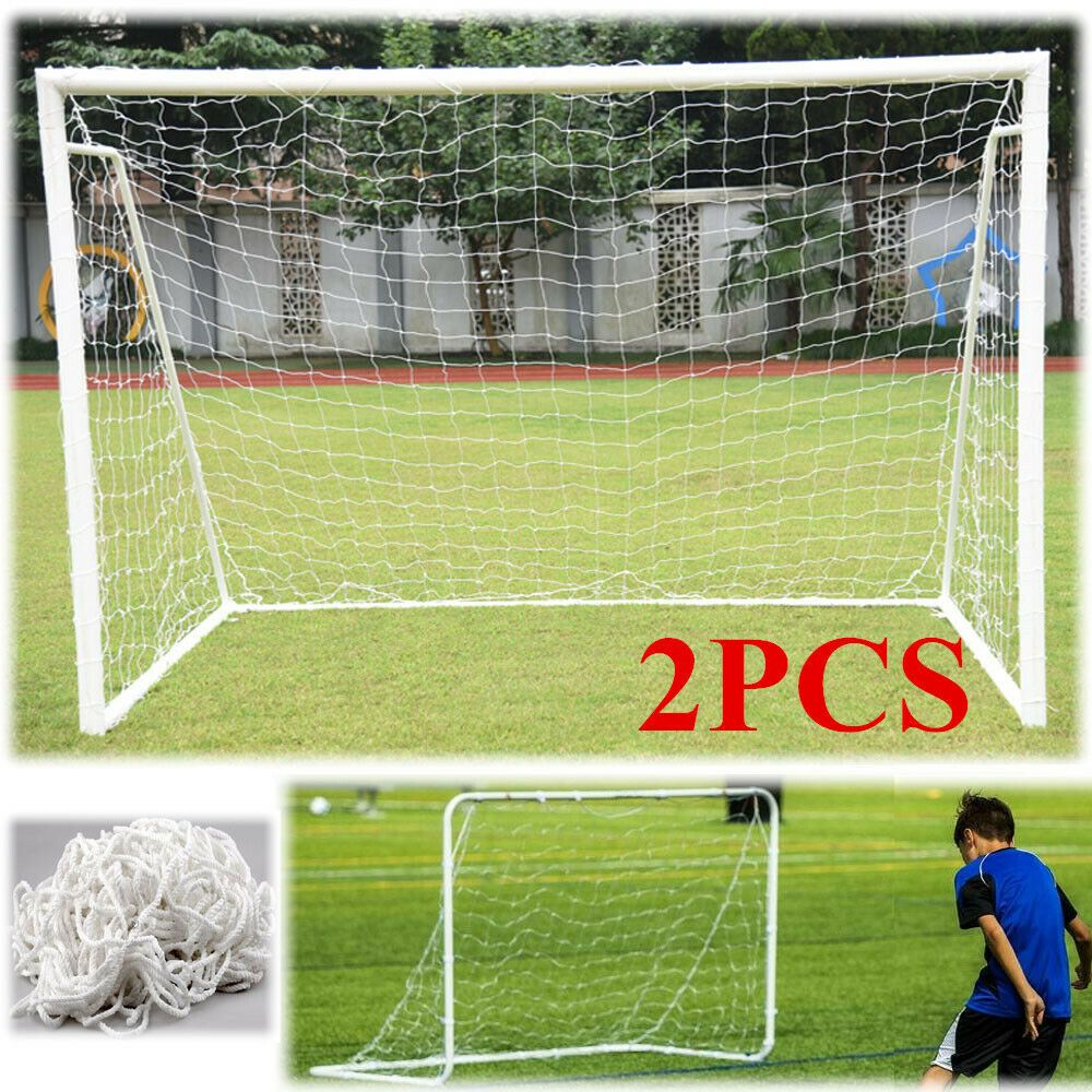 Advertisement Ebay 2pcs 6x4ft Football Soccer Goal Post Net For Kid Football Soccer Sport Training Soccer Goal Post Soccer Goal Soccer