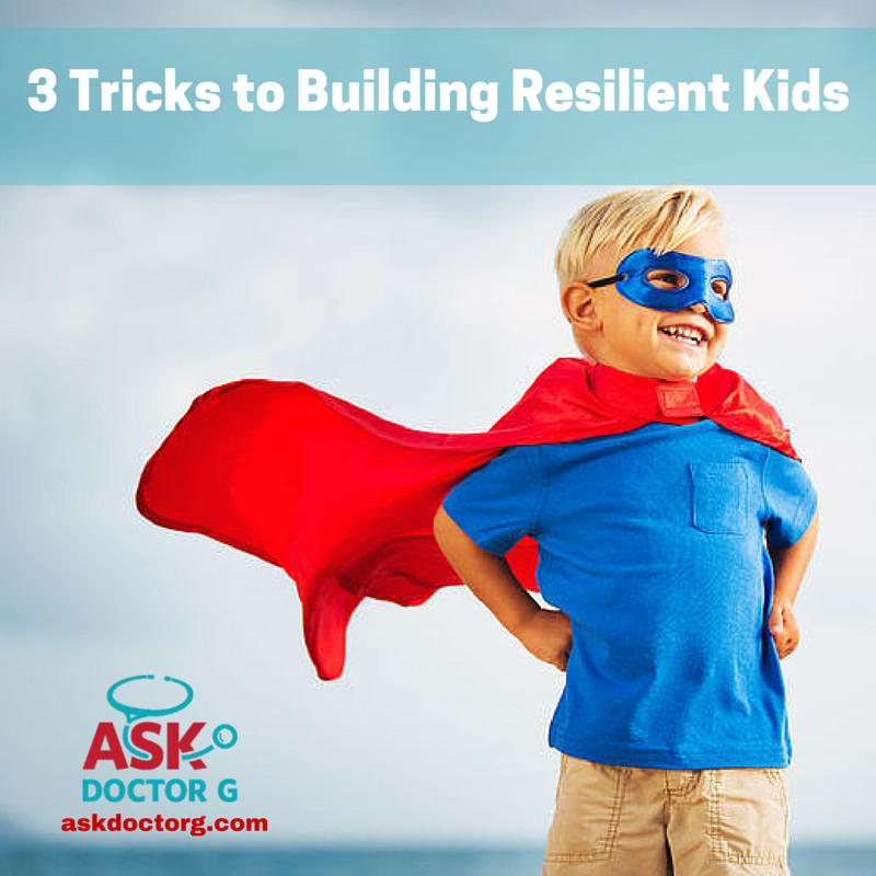 Teach your kids to be resilient with these tips!  Parenting | Happy Kids | Resilience