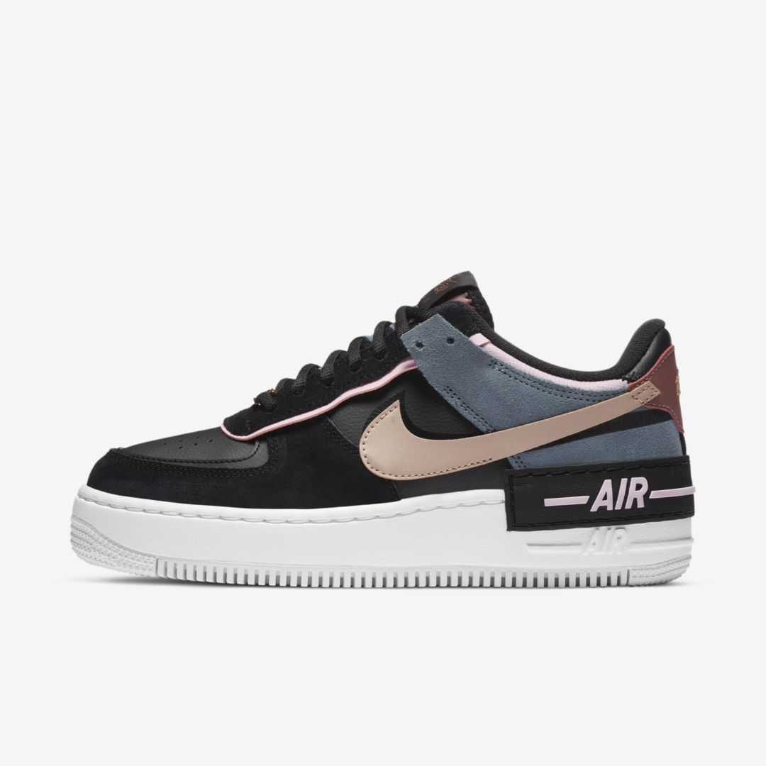 Nike Air Force 1 Shadow Women's Shoe (Black)