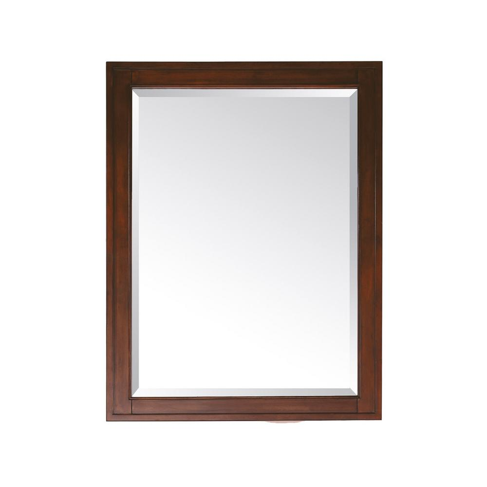 Avanity Madison 32 In L X 24 In W Framed Mirror In Tobacco Madison M24 To The Home De Rectangular Bathroom Mirror Bathroom Mirror Frame Beveled Edge Mirror [ 1000 x 1000 Pixel ]