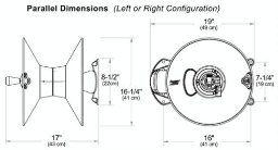 Amazon.com : Eley / Rapid Reel Wall Mount Garden Hose Reel Model 1041 :