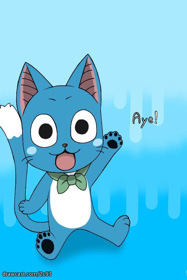 Happy Cat Fairy Tail Happy Fairy Tail Anime Fairy Tail