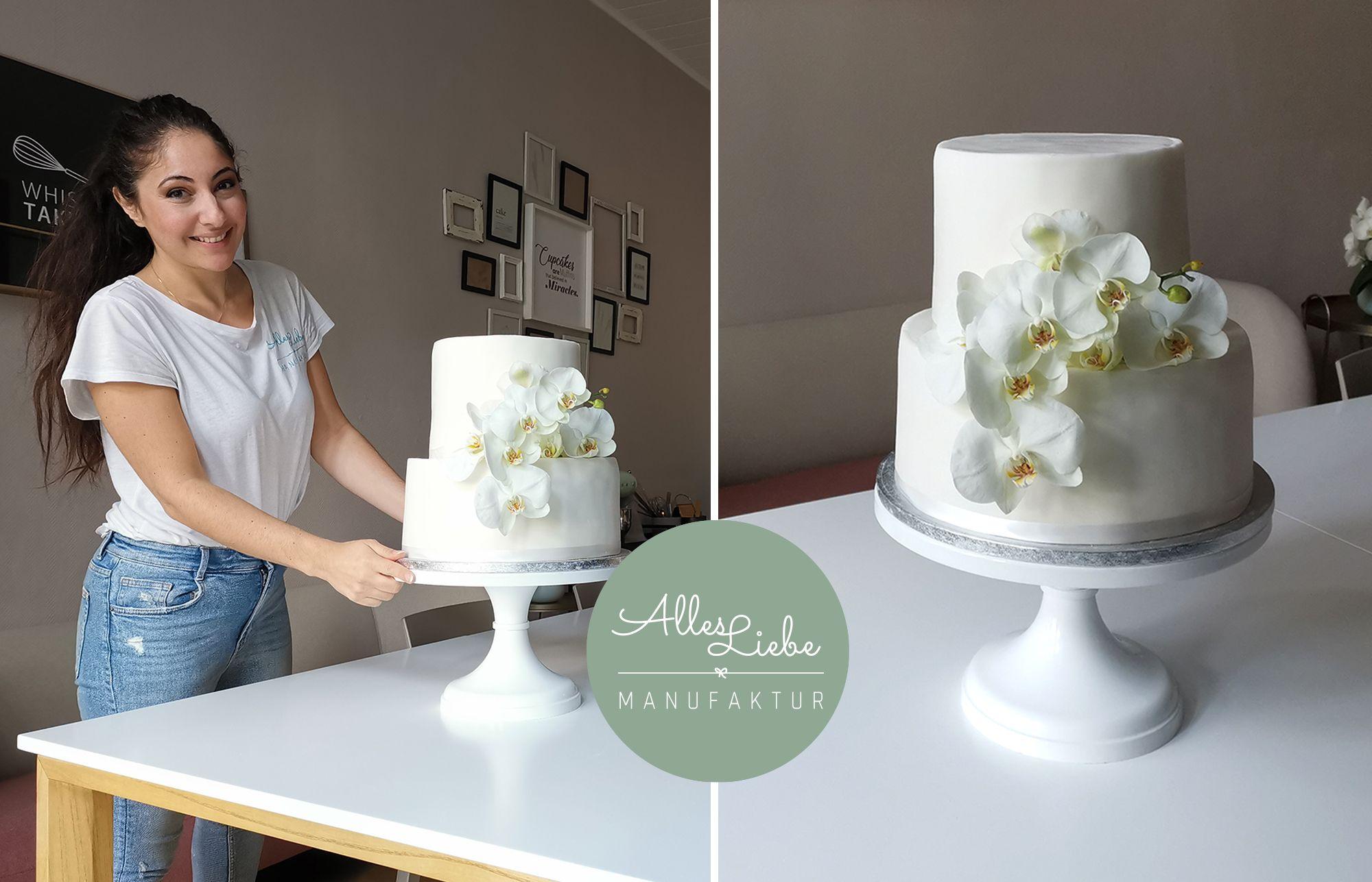 Semi-Naked Cake mit Blumen   BRIGITTE.de