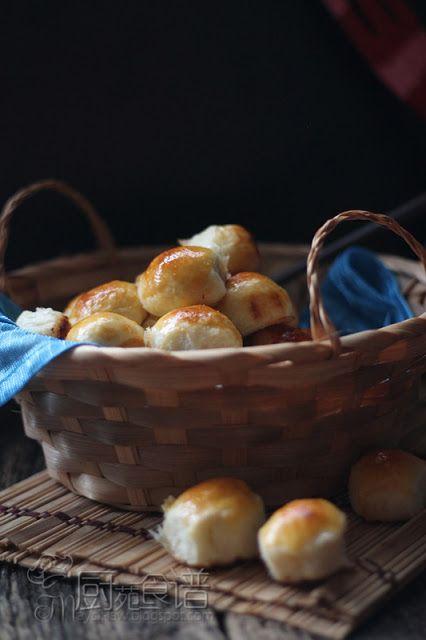 厨苑食谱: 金钱面包 【Money Bread】