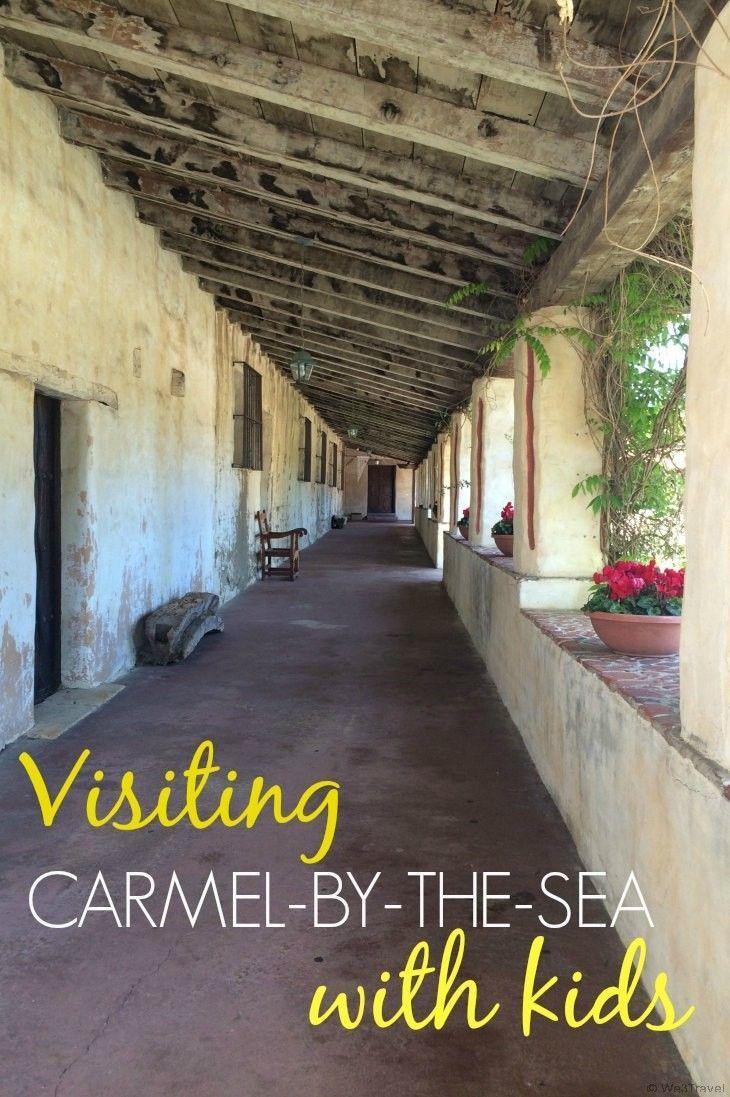 visiting carmel with kids california travel california travel rh pinterest com