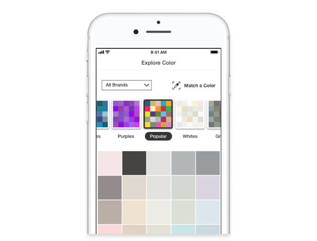 Home Depot Project Color App Matching Paint Colors Home Depot