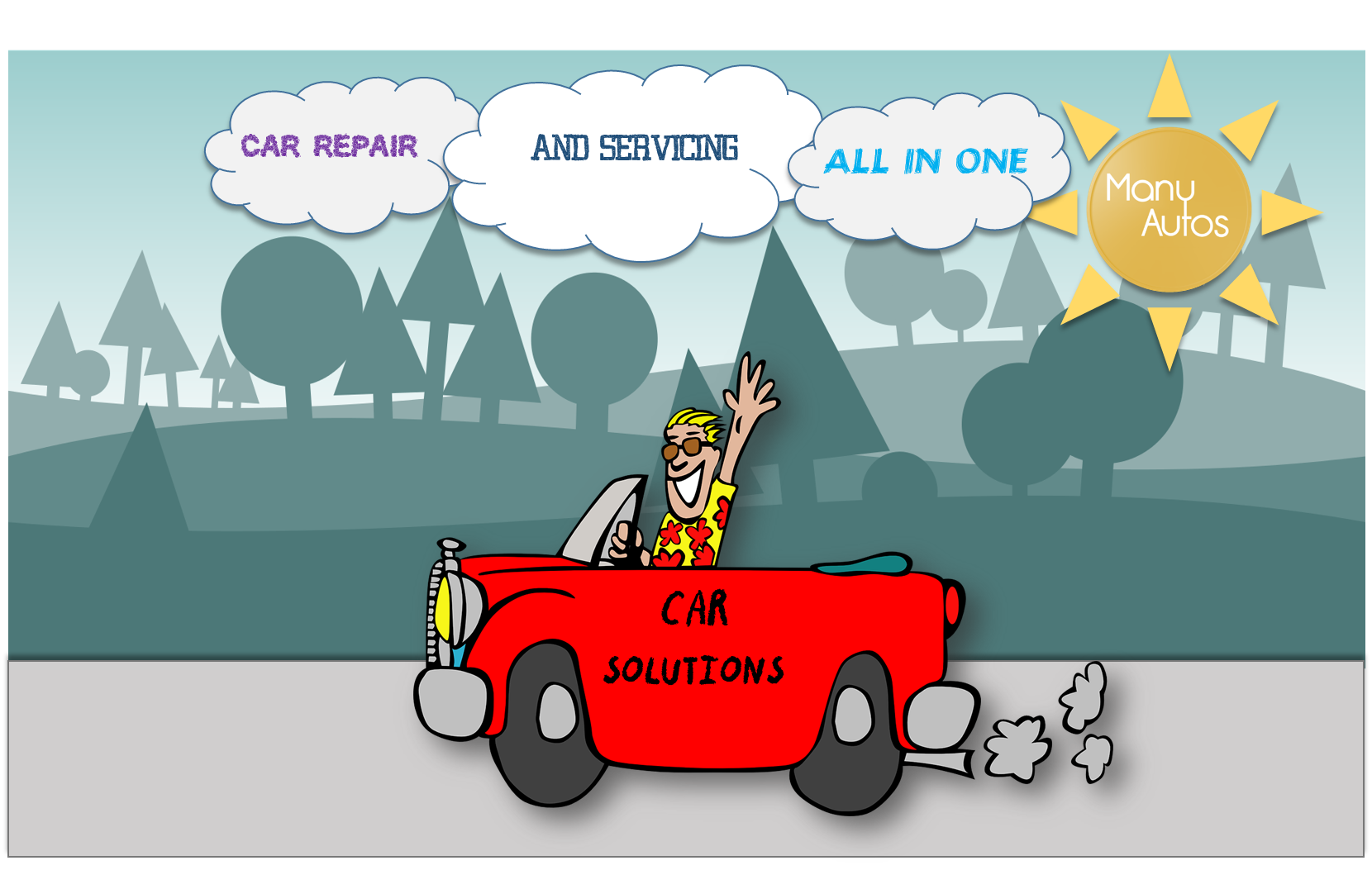 All in one car solutions. Car repair and servicing for all