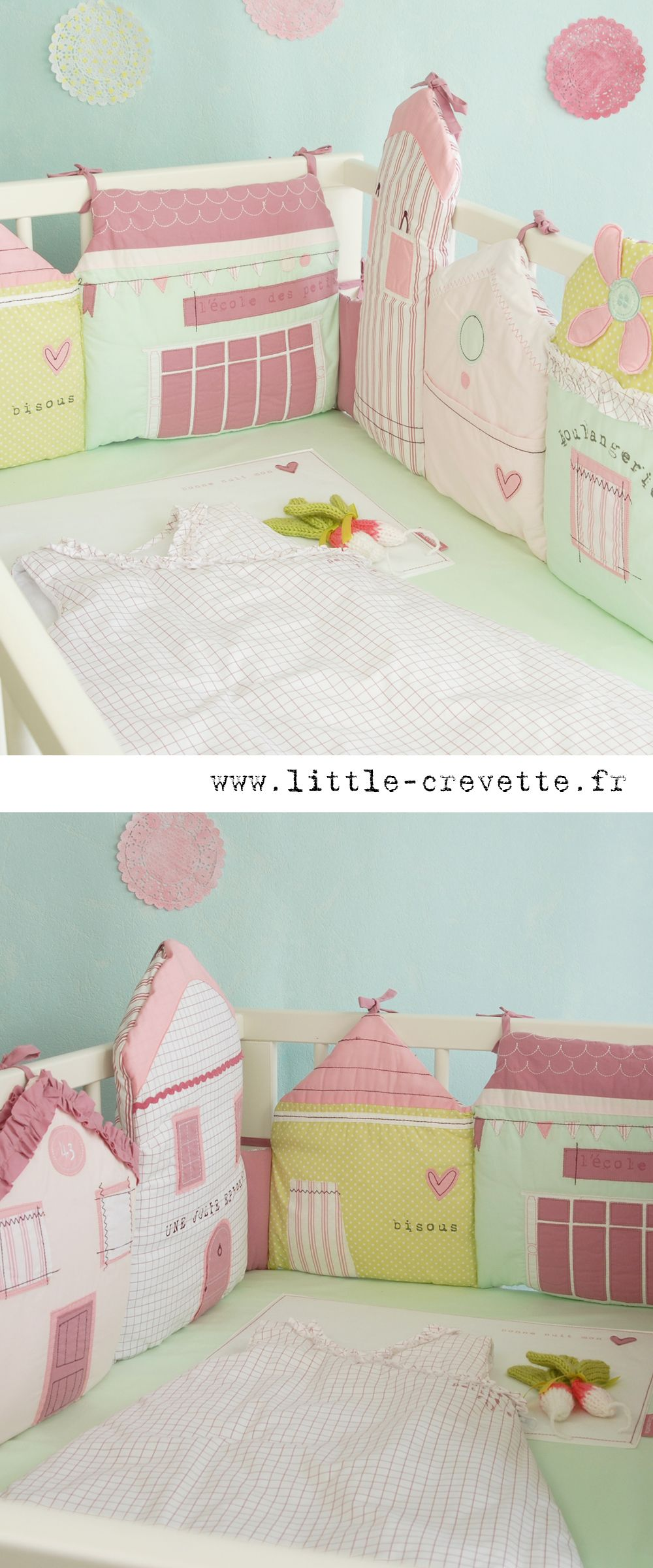 Bettnestchen Baby Make Similar For Her Crib Sew Cute Baby Nähen Baby