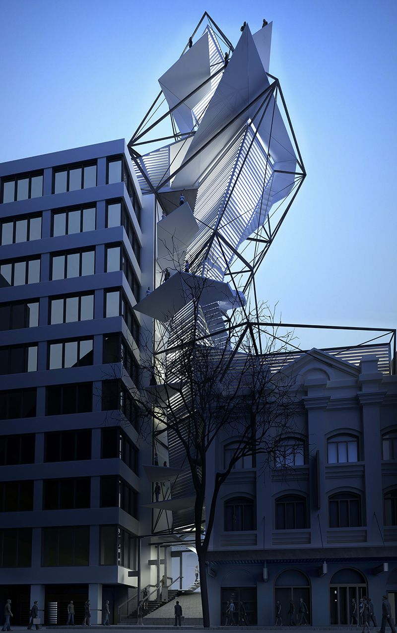 Sussex st wind tower by kink studio architecture k Wind architecture