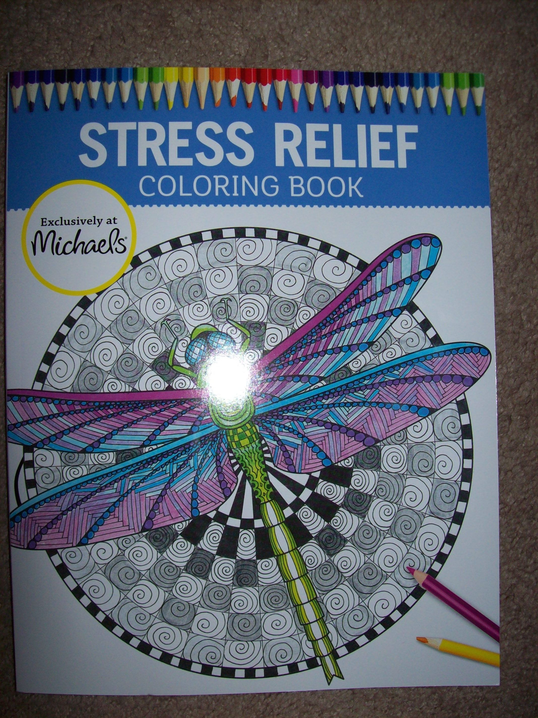 Michael S Stress Relief Coloring Books Coloring Books Stress