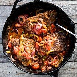 Skillet Swiss Steak - EatingWell.com