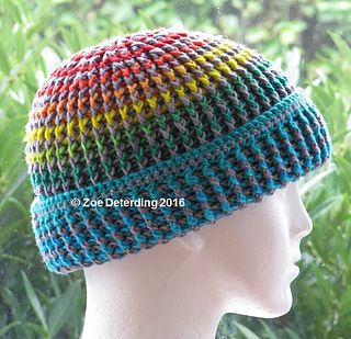 Instant free download crochet pattern. Great for multi colours and minimal yarn changes for fewer loose ends to weave in.