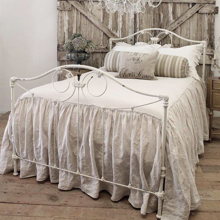 Farm house iron bed now available