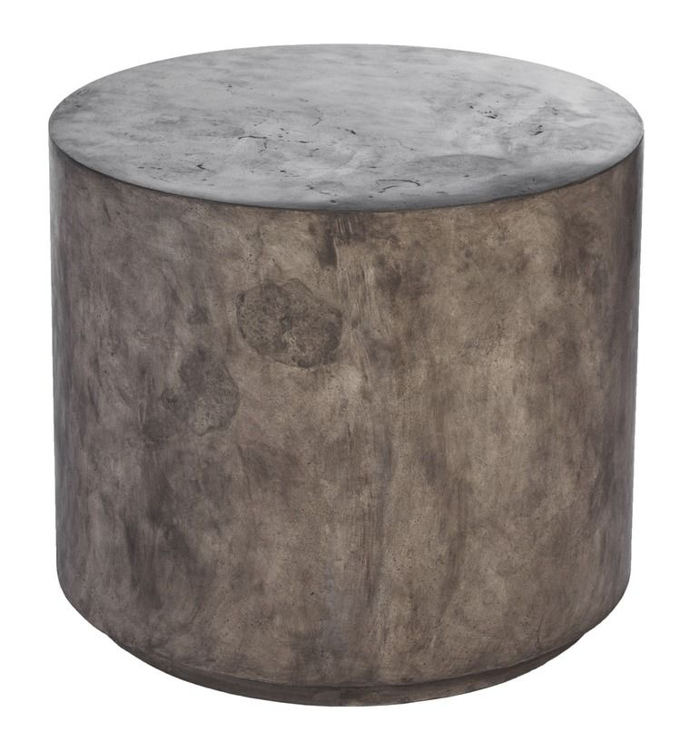 low round concrete stool phc 977 furnish concrete stool rh pinterest com