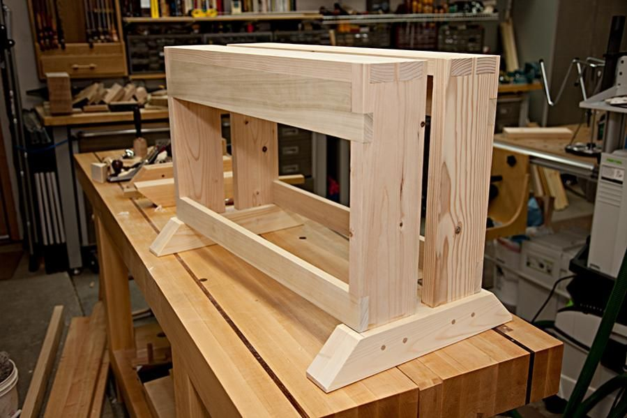 Build A Work Bench On A Budget A Tough Stable Workbench That Only Takes An Afternoon To Build Woodworking Bench Woodworking Bench Plans Woodworking Workbench
