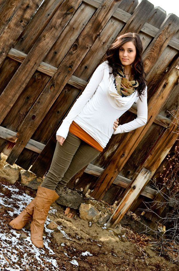 fall outfit- super cute…Like the bootsmostly :)