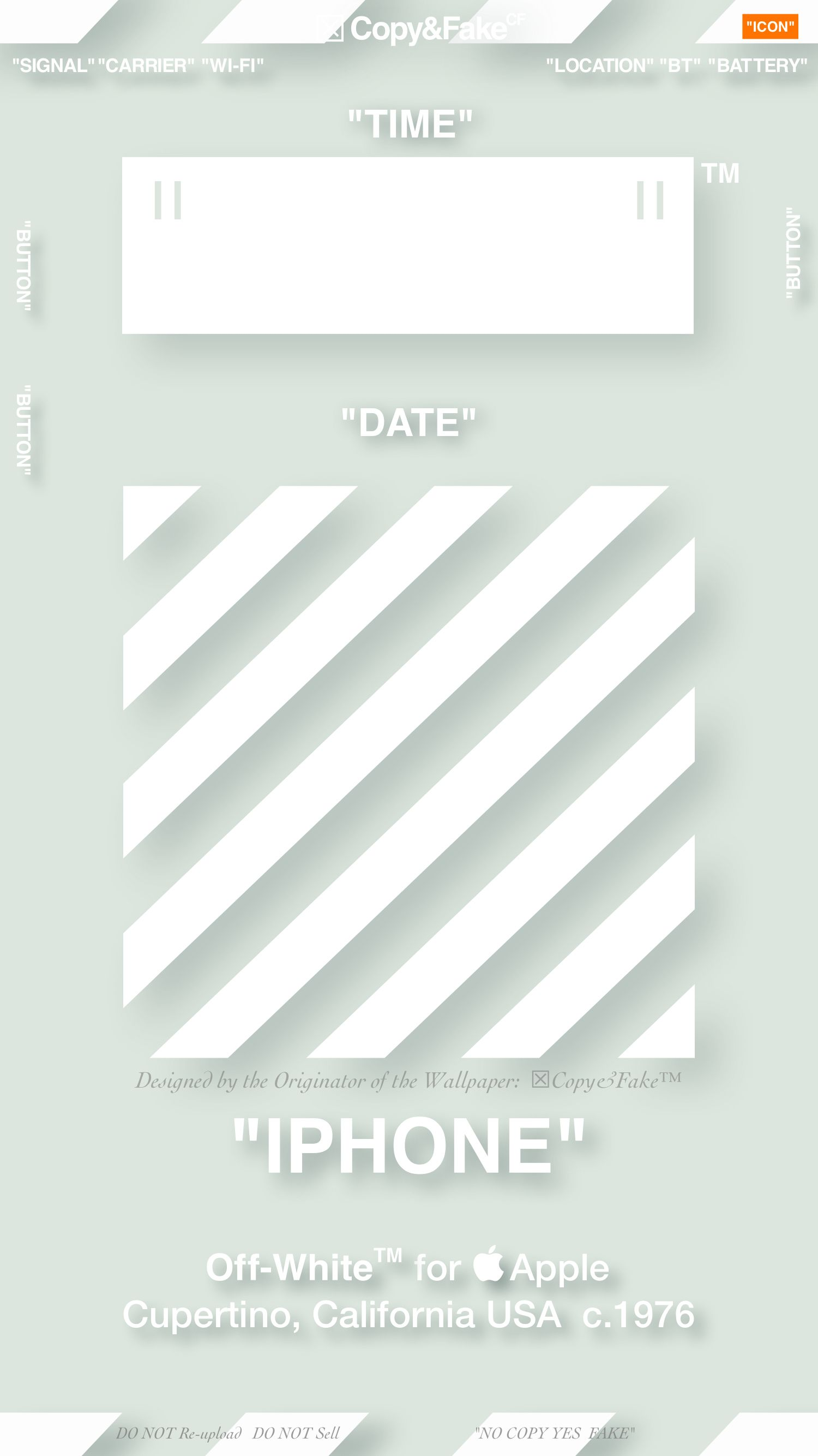 2019 5 6 Copy Fake Wallpaper 壁紙 Offwhitewallpaper オフ