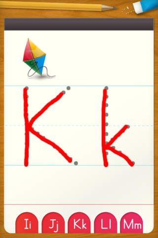 abc letter tracing app free