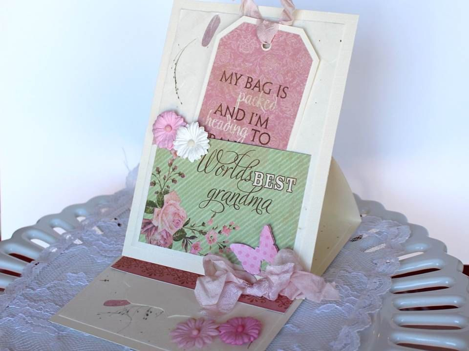 wedding gift card holders%0A Grandmother Mother u    s Day greeting card  Mothers day card for grandma  paper  handmade greeting card  gift card holder