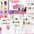 Happy Valentine S Day Mouse Literacy Language And Listening Book Companion Early Childhood Activities Valentine Activities Happy Valentine