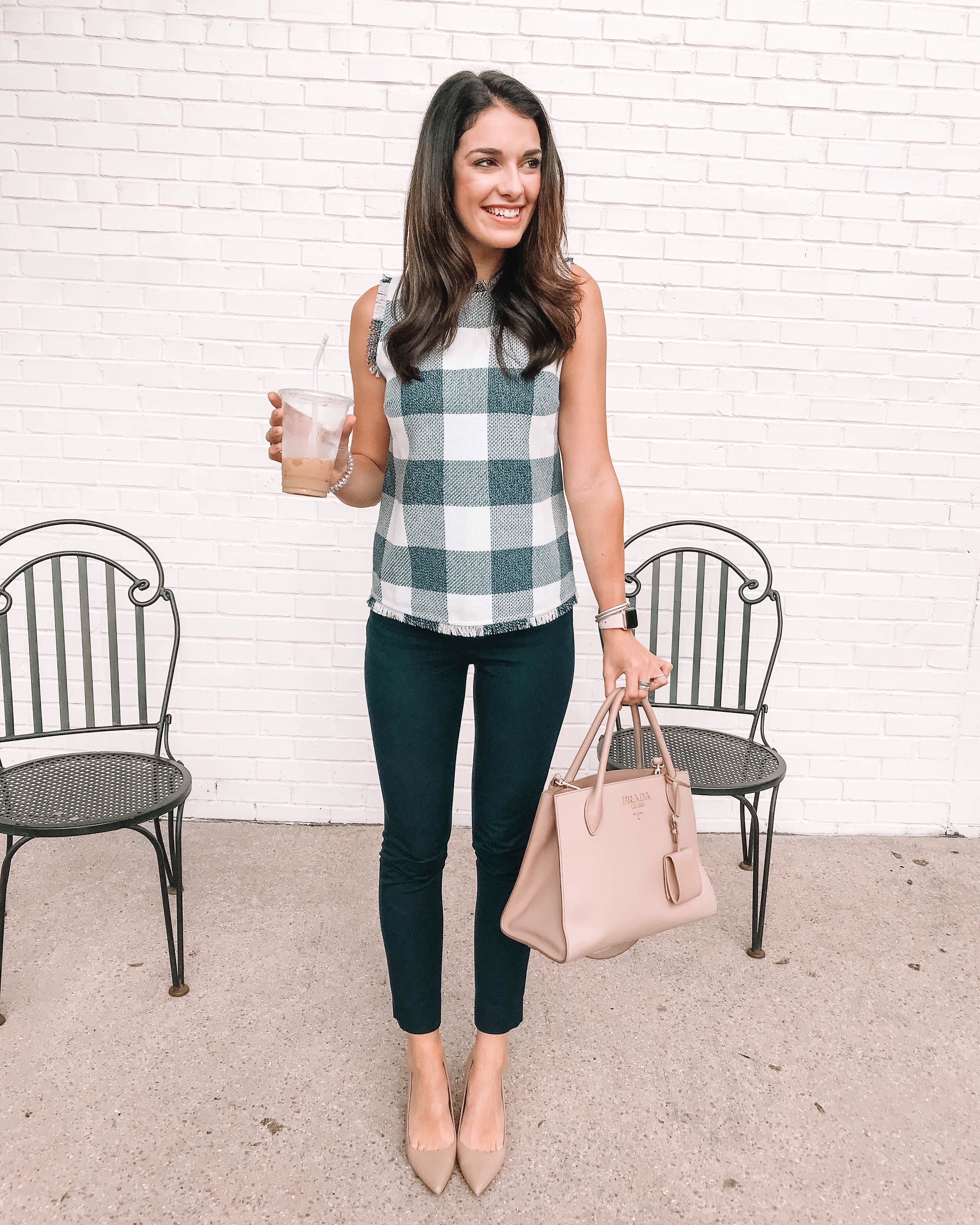 Cute Summer Work Outfit With Polene Bag Summer Work Outfits Summer Work Outfits Curvy Professional Outfits [ 1227 x 736 Pixel ]