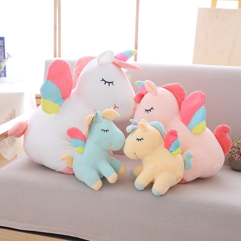 Rainbow Unicorn Plush Toy Magical Unicorns Unicorn Plush Unicorn Doll Baby Soft Toys [ 1000 x 1000 Pixel ]