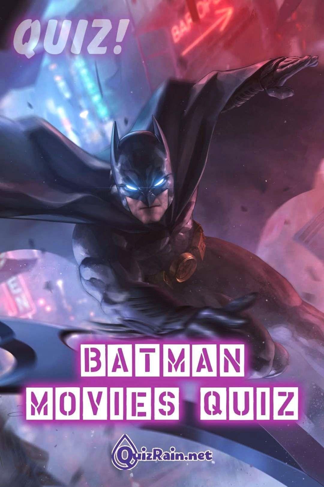 Movies Quiz – Welcome to Gotha...Batman Movies Quiz – Welcome to Gotha...  Siegfried Vol. 2  Bl