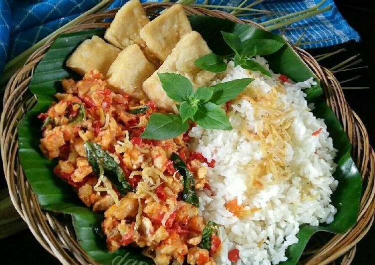 Resep Nasi Liwet Sederhana Dg Sambel Tempe Teri Tahu Goreng Oleh Dapurvy Resep Masakan Resep Resep Masakan