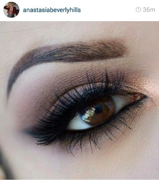 Anastasia eye makeup