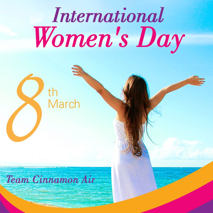 Happy Women S Day Happy Woman Day Air Diverse Landscape