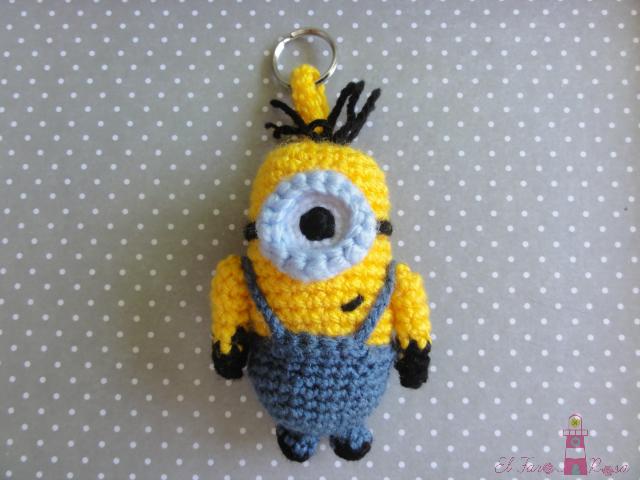 Patron Minion Amigurumi : Llavero minion breloczki pinterest amigurumi patterns and crochet