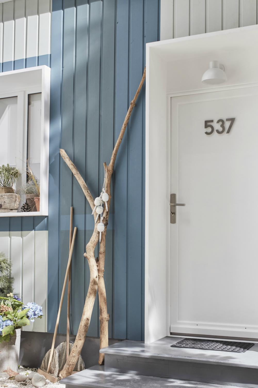 Une Facade Coloree En 2020 Idees Pour La Maison Maison Cabane De Plage