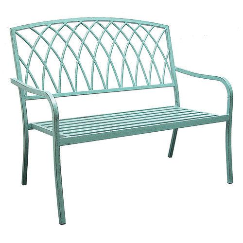 innova hearth and home lancaster steel park bench furniture rh pinterest co uk